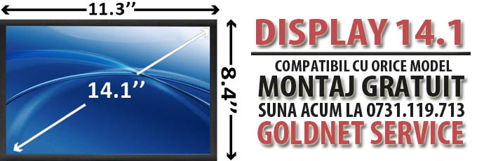 Display laptop sh 14.1 inch bucuresti montaj gratuit